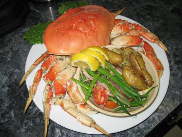 Special Dungeness Crab Dinner