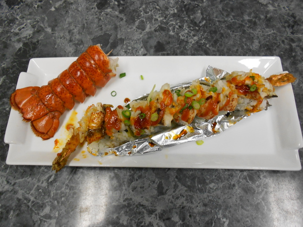 Kitanishi Special Lobster Roll:  Dinner $19.95