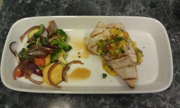 Fresh Hawaiian Kajiki Blue Marlin:  Lunch $15.95 / Dinner $24.95